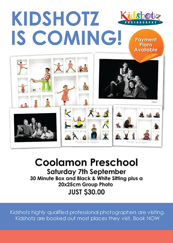 kidshotz Coolamon 2019 images