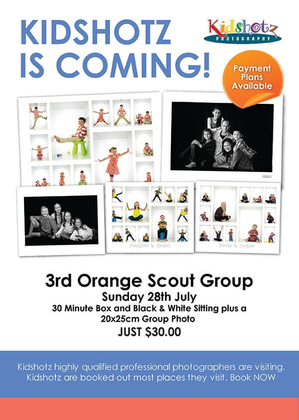 kidshotz Orange Scouts 2019 images